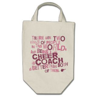 Cheer Coach Gift Canvas Bags