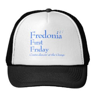 Fredonia First Friday Contra Dance Trucker Hats