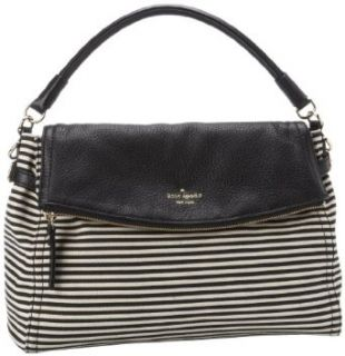 Kate Spade New York Cobble Hill Fabric Little Minka PXRU4032 Satchel,Black/Natural,One Size Clothing