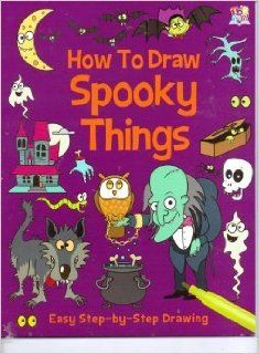 How to Draw Spooky Things (Easy Step by Step Drawing) (Paperback) Toys & Games