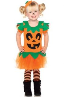 Leg Avenue Girls Pumpkin Costume Halloween Party Dress Special Occasion Dresses Clothing