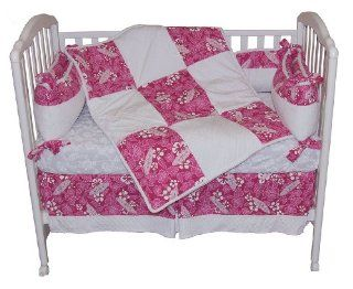 Pink Crush Hawaiian Surf Minky Chenille Baby Crib Bedding Set  Other Products