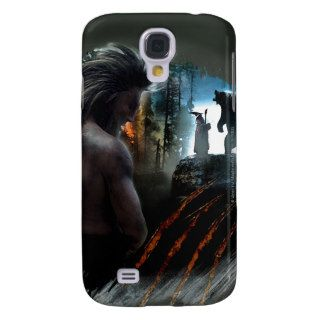 Beorn And Gandalf Graphic Samsung Galaxy S4 Cases