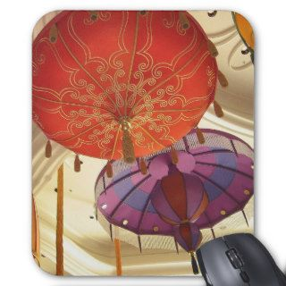 Hanging Parasols   Mouse Pad