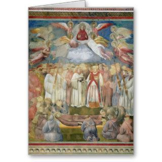 The Death of St. Francis, 1297 99 Greeting Cards