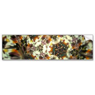 Bejeweled Kaleidescope 45 paper products Bumper Stickers