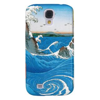 Awa Province, Naruto Whirlpools by Ando Hiroshige Samsung Galaxy S4 Cover