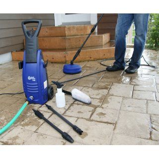 AR Blue Clean AR142 P 1600 PSI Cold Water Electric Pressure Washer with Accessories  Patio, Lawn & Garden