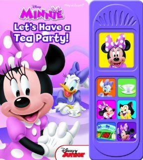 Mickey Mouse Clubhouse Let's Have a Tea Party Play a Sound Editors of Publications International 9781450862042  Kids' Books
