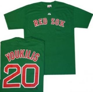 Boston Red Sox Kevin Youkilis St. Patricks Day T Shirt (XXL)  Sports Fan Jerseys  Sports & Outdoors
