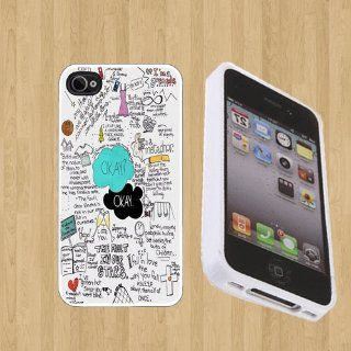 The Fault in Our Stars Custom Case/Cover FOR Apple iPhone 4 / 4s** WHITE** Rubber Case ( Ship From CA ) Cell Phones & Accessories