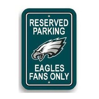 "Parking Sign   NFL Football   Philadelphia Eagles ""Eagles Fans Only""  Sports Fan Street Signs  Sports & Outdoors"