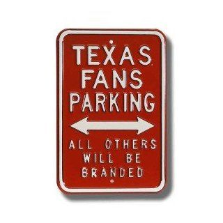 Texas Longhorns Others will be Branded Parking Sign  Sports Fan Outdoor Flags  Sports & Outdoors