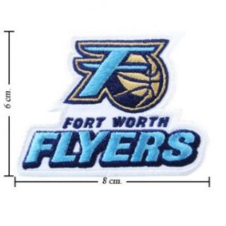 Fort Worth Flyers The Past Logo Embroidered Iron Patches Clothing