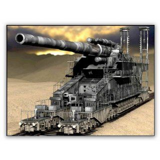 Hobby Boss German 80cm K(E) Railway Gun 'Dora' Vehicle Model Building Kit Toys & Games