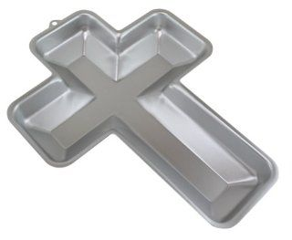 WILTON Aluminum Cross Cake Pan Novelty Cake Pans Kitchen & Dining