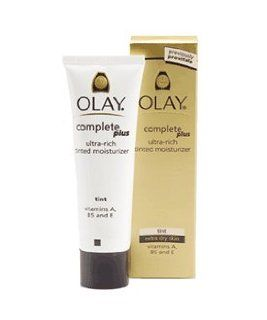 Olay Complete Plus Ultra Rich Tinted Moisturizer, Tint Extra Dry Skin, (Previously Provital) 48g/1.7oz  Facial Treatment Products  Beauty