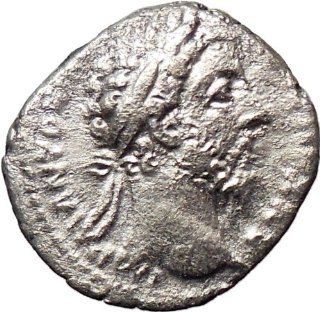 Commodus 177AD Silver Ancient Roman Coin Nude Zeus Jupiter Possibly Unpublished