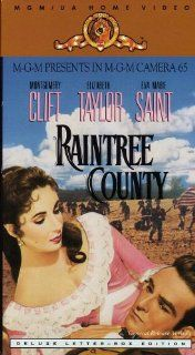 Raintree County (General Release Version Deluxe Letter Box Edition) Montgomery Clift, Elizabeth Taylor, Eva Marie Saint, Nigel Patrick, Lee Marvin, Agnes Moorehead, Rod Taylor, Walter Abel, Edward Dmytryk, Davis Lewis Movies & TV