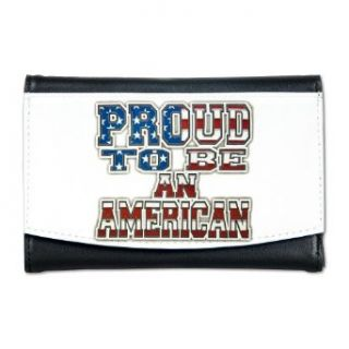 Artsmith, Inc. Mini Wallet Proud To Be An American United States US Flag Clothing
