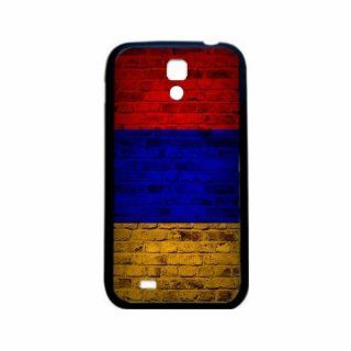 Armenia Brick Wall Flag Samsung Galaxy S4 Black Silcone Case   Provides Great Protection Cell Phones & Accessories