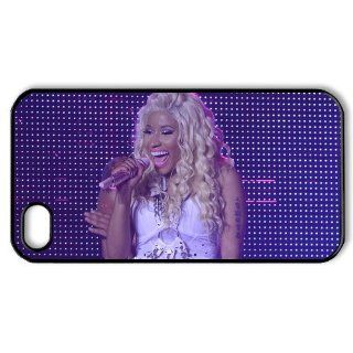 DIYCase Singer Series Nicki Minaj   Stylish Phone Case Cover for Iphone 4 4S 4G   Back Cover Custom   1381971 Cell Phones & Accessories