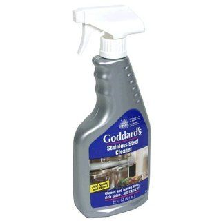 Goddard's Stainless Steel Cleaner Spray, 22 Ounce Bottle (Pack of 6) Health & Personal Care