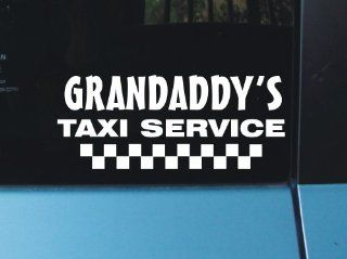 Grandaddy's Taxi Service Vinyl Decal Sticker