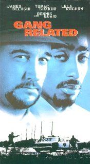 Gang Related [VHS] James Belushi, Tupac Shakur, Lela Rochon, Dennis Quaid, James Earl Jones, David Paymer, Wendy Crewson, Gary Cole, Terrence 'T.C.' Carson, Brad Greenquist, James Handy, Kool Moe Dee, Jim Kouf, Brad Krevoy, Jeff Ivers, Jeffrey Dow