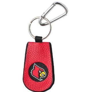 Louisville Cardinals Team Color Basketball Keychain  Sports Related Key Chains  Sports & Outdoors