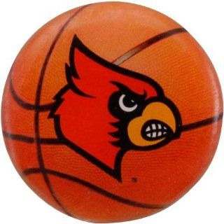 Louisville Cardinals Double Back Basketball Pin  Sports Related Pins  Sports & Outdoors