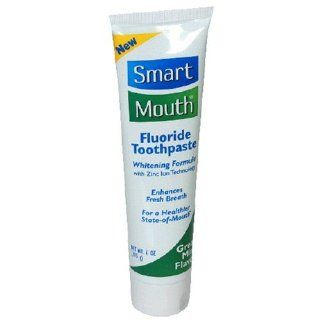 Same Zinc Ion formula as SmartMouth Mouthwash   SmartMouth Toothpaste, Mint, 6 Ounce Tubes (Pack of 3)