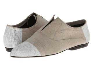 Calvin Klein Collection Remi Painted Linen Womens Shoes (White)