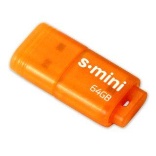 Patriot 64GB Supersonic Mini Series USB 3.0 Flash Drive (Orange) With Up To 80MB/sec   PSF64GSMUSB Computers & Accessories