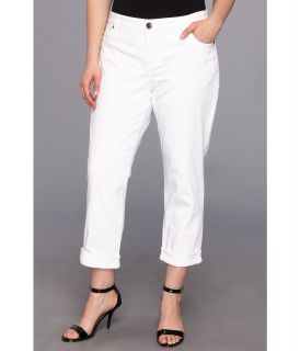 KUT from the Kloth Plus Size Catherine Boyfriend in White Womens Jeans (White)