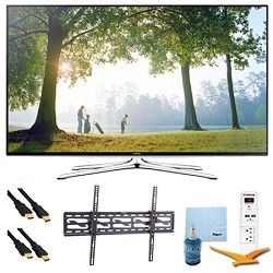 Samsung UN48H6350   48 HD 1080p Smart HDTV 120Hz  Wi Fi Plus Tilt Mount & HookU