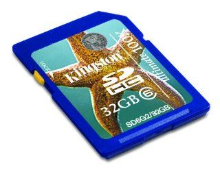 Kingston Digital, Inc. 32 GB Flash Memory Card SD6G2/32GB Electronics