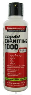 Jarrow Formulas   Liquid Carnitine 1000 Lemon Lime Flavor   16 oz.