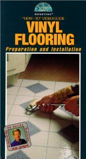 Vinyl Flooring Preparation and Installation   How to Video Guide w/ Project Guide (As Seen on PBS Series) [VHS] Dean Johnson Movies & TV