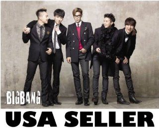 Bigbang standing & joking horiz POSTER 34 x 23.5 Top G Dragon Tae Yang Korean boy band Big Bang T.O.P. (sent from USA in PVC pipe)  Prints
