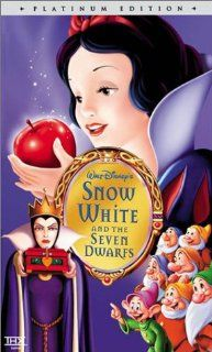 Snow White and the Seven Dwarfs (Disney Platinum Edition) [VHS] Adriana Caselotti, Harry Stockwell, Lucille La Verne, Roy Atwell, Stuart Buchanan, Hall Johnson Choir, Eddie Collins, Pinto Colvig, Marion Darlington, Billy Gilbert, Otis Harlan, Scotty Mattr