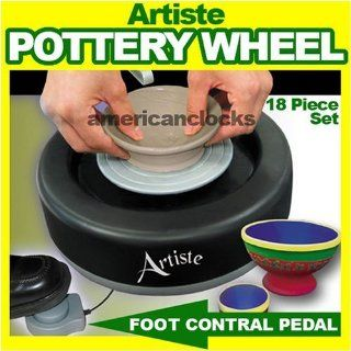 As Seen On TV Artiste Pottery Wheel Set 18 Pcs Toys & Games