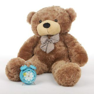 "Sunny Cuddles   30""   Super Cute & Huggable,giant Teddy Mocha Colored Plush Bear Toys & Games"