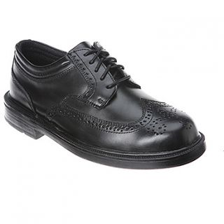 Deer Stags Tribune  Men's   Black Leather