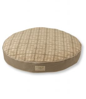 Premium Fleece Top Replacement Dog Bed Cover, Round