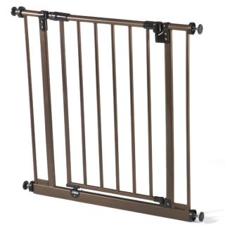 North States Deluxe Bronze Metal Easy Close Gate   15751492