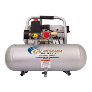 California Air Tools Industrial 2 Gal. 1 HP Ultra Quiet Oil Free and Lightweight Electric Air Compressor 2010ALFC