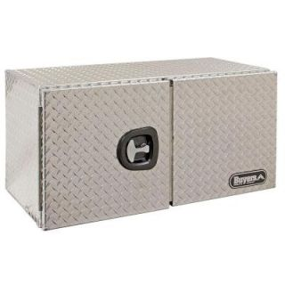 Buyers Products Company 36 in. Aluminum Barn Door Style Underbody Tool Box with T Handle Latch 1702235