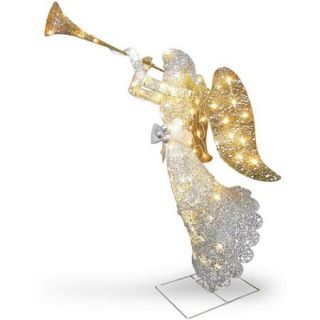 National Tree Co. Crystal Angel Christmas Decoration