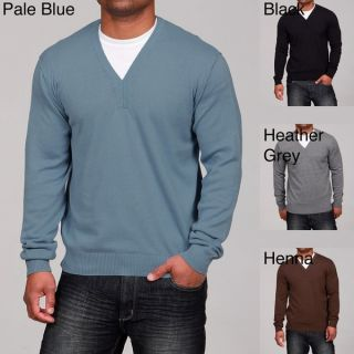 Whispering Smith Mens Fine Gauge V neck Sweater FINAL SALE